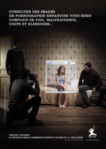 Campagne 2009_cyber pedopornographie
