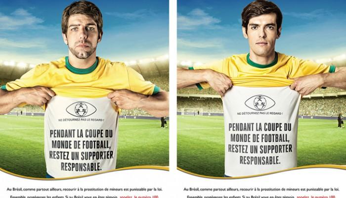 Affiches Juninho et Kaká